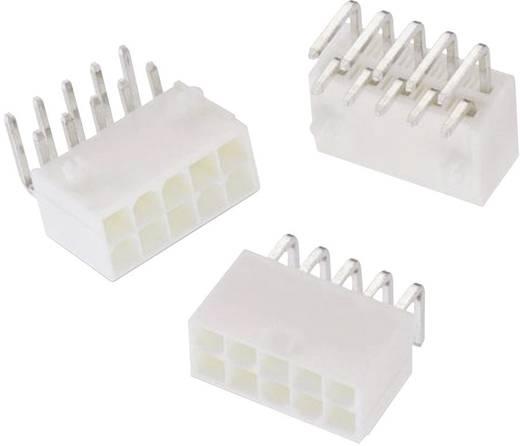 WR-MPC4 tűház, kétsoros, hajlított, reteszeléssel Pólusszám: 10 Würth Elektronik Tartalom: 1 db