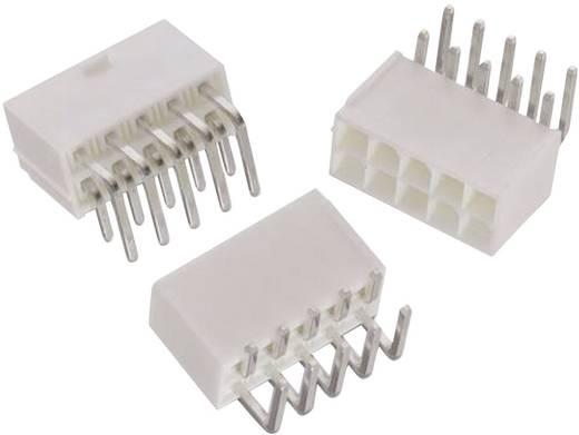 WR-MPC4 SMD tűház, kétsoros, hajlított Pólusszám: 2 Würth Elektronik Tartalom: 1 db