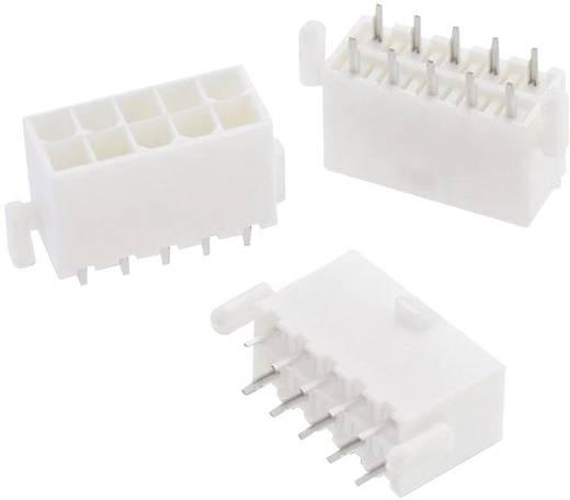 WR-MPC4 tűház, kétsoros, egyenes, reteszeléssel Pólusszám: 10 Würth Elektronik Tartalom: 1 db