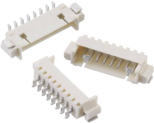 1,25 mm-es SMD stiftsor, hajlított, reteszeléssel, WR-WTB Pólusszám: 2 Würth Elektronik 653102131822