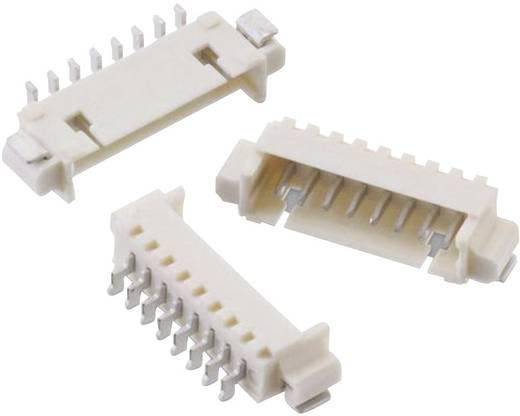 1,25 mm-es SMD stiftsor, hajlított, reteszeléssel, WR-WTB Pólusszám: 3 Würth Elektronik 653103131822