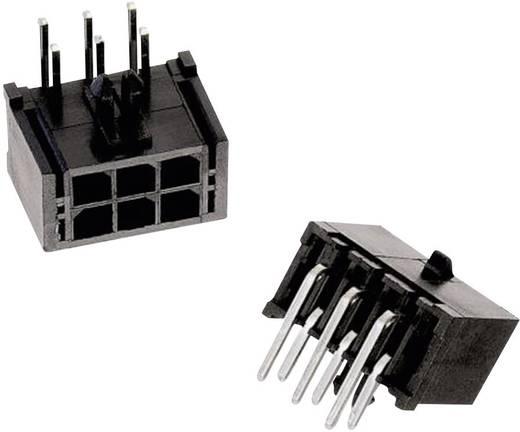 WR-MPC3 tűház, kétsoros, hajlított, reteszeléssel Pólusszám: 6 Würth Elektronik Tartalom: 1 db