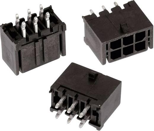 WR-MPC3 tűház, kétsoros, egyenes Pólusszám: 6 Würth Elektronik Tartalom: 1 db