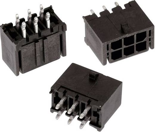 WR-MPC3 tűház, kétsoros, egyenes Pólusszám: 8 Würth Elektronik Tartalom: 1 db
