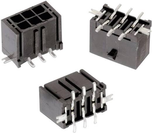WR-MPC3 SMD tűház, kétsoros, egyenes, kiegészítő forrfüllel Pólusszám: 6 Würth Elektronik Tartalom: 1 db