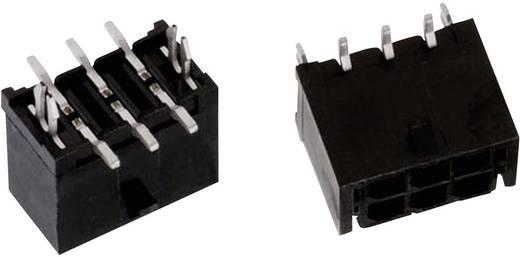 WR-MPC3 SMD tűház, kétsoros, egyenes, csíptetővel Pólusszám: 8 Würth Elektronik Tartalom: 1 db