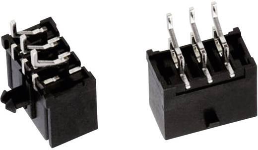 WR-MPC3 SMD tűház, kétsoros, hajlított, reteszeléssel Pólusszám: 6 Würth Elektronik Tartalom: 1 db