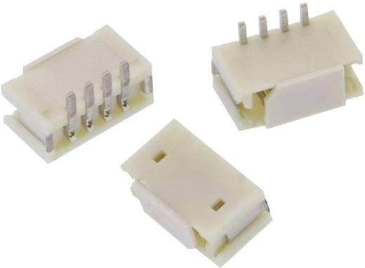 WR-WTB 1,50 mm-es SMD stiftsor, egyenes, reteszeléssel, WR-WTB Pólusszám: 4 Würth Elektronik Tartalom: 1 db