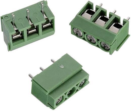 WR-TBL Terminál tömb, 111-es sorozat Raszterméret: 5 mm Pólusszám: 3 Zöld 691111710003 Würth Elektronik Tartalom: 1 db