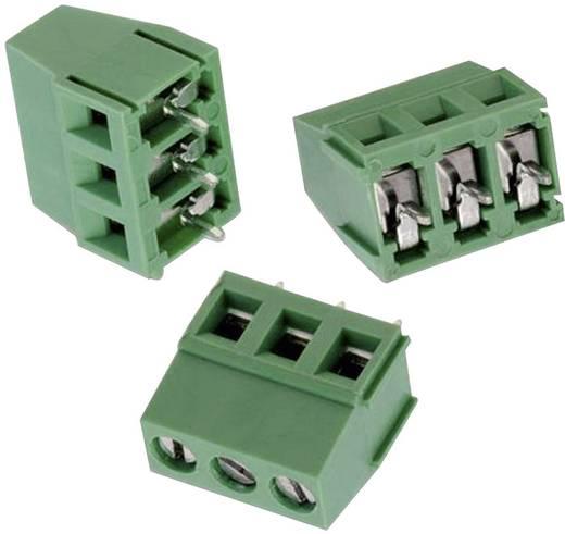 WR-TBL Terminál tömb, 212-es sorozat Raszterméret: 5 mm Pólusszám: 3 Zöld 691212710003 Würth Elektronik Tartalom: 1 db