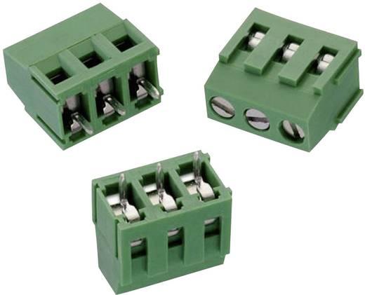 WR-TBL Terminál tömb, 2165-ös sorozat, RM 5,08 mm Pólusszám: 3, zöld, Würth Elektronik 691216510003