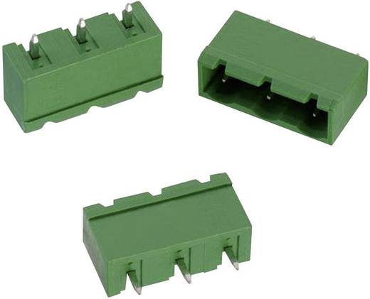 WR-TBL Terminál tömb, 3114-es sorozat, zárt Raszterméret: 7.62 mm Pólusszám: 3 Zöld Würth Elektronik 691311400103 Tartalom: 1 db