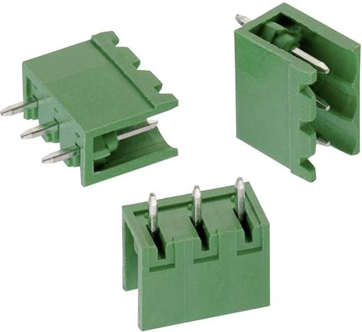 WR-TBL Terminál tömb, 311-es sorozat, oldalt nyitott Raszterméret: 5.08 mm Pólusszám: 6 Zöld Würth Elektronik 6913115000