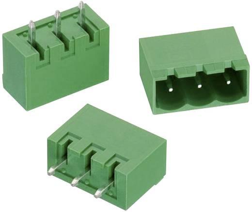 WR-TBL Terminál tömb, 311-es sorozat, oldalt zárt Raszterméret: 5.08 mm Pólusszám: 5 Zöld Würth Elektronik 691311500105