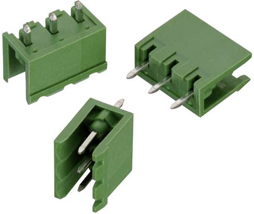 WR-TBL Terminál tömb, 3117-es sorozat, oldalt nyitott Raszterméret: 5 mm Pólusszám: 3 Zöld Würth Elektronik 691311700003 Tartalom: 1 db