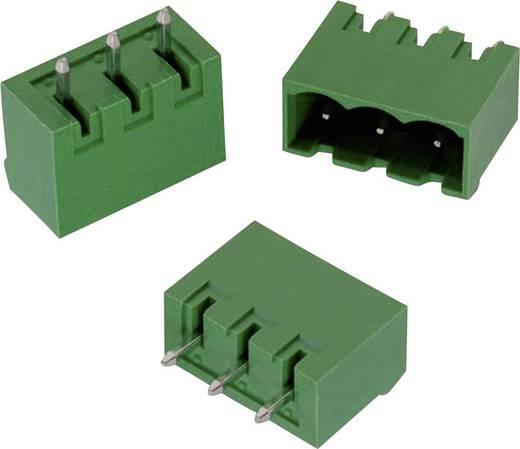 WR-TBL Terminál tömb, 3117-es sorozat, oldalt nyitott Raszterméret: 5 mm Pólusszám: 6 Zöld Würth Elektronik 691311700106