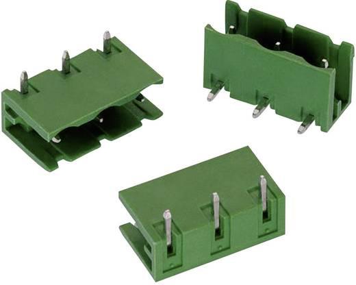 WR-TBL Terminál tömb, 3124-es sorozat, oldalt nyitott Raszterméret: 7.62 mm Pólusszám: 4 Zöld Würth Elektronik 691312410