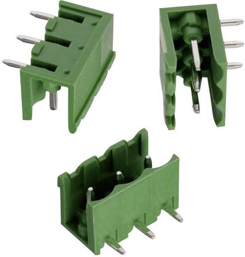 WR-TBL Terminál tömb, 312-es sorozat, oldalt nyitott Raszterméret: 5.08 mm Pólusszám: 4 Zöld Würth Elektronik 6913125100