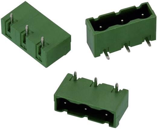 WR-TBL Terminál tömb, 3134-es sorozat, oldalt zárt Raszterméret: 7.62 mm Pólusszám: 3 Zöld Würth Elektronik 691313410003 Tartalom: 1 db