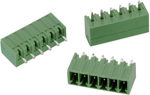 WR-TBL Terminál tömb, 3211-es sorozat, zárt Raszterméret: 3.5 mm Pólusszám: 6 Zöld Würth Elektronik 691321100006 Tartalo
