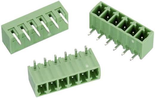 WR-TBL Terminál tömb, 322-es sorozat Raszterméret: 3.81 mm Pólusszám: 6 Zöld Würth Elektronik 691322310006 Tartalom: 1 db