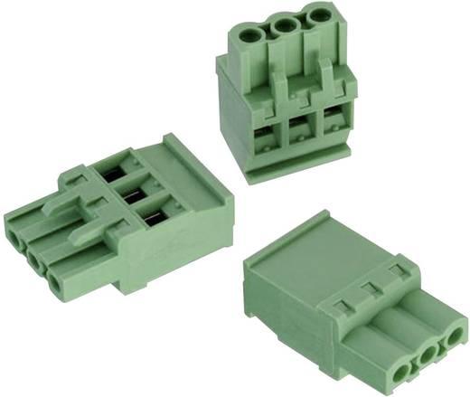 WR-TBL Terminál tömb, 3517-es sorozat Zöld Würth Elektronik 691351700006 Tartalom: 1 db