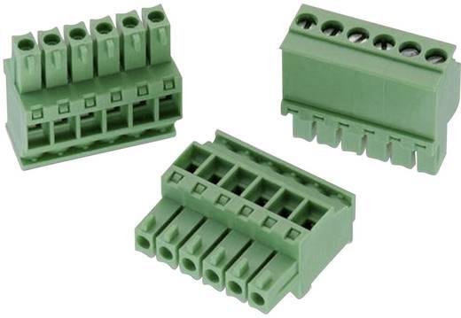 WR-TBL Terminál tömb, 3631-es sorozat, RM 3,5 mm Pólusszám: 6, zöld, Würth Elektronik 691363110006