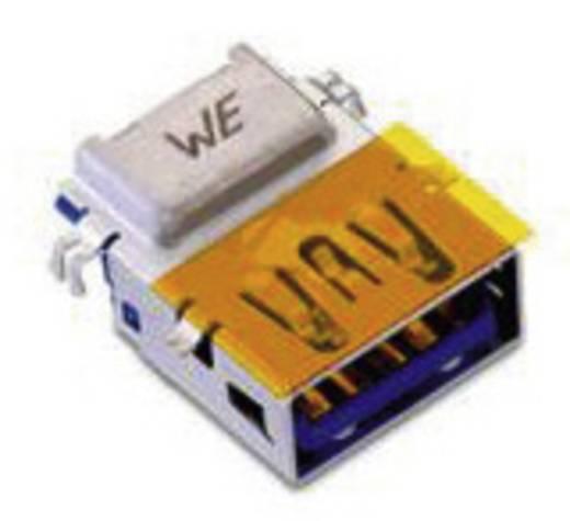 USB 3.0 A típus, fekvő, 1,75 mm eltéréssel, WR-COM Alj, beépíthető, vízszintes Würth Elektronik Tartalom: 1 db