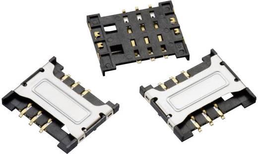 SIM kártyafoglalat, WR-CRD Pólusszám: 6 Würth Elektronik 693010030601