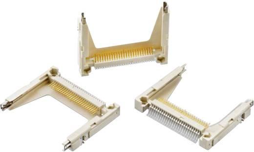 Compact Flash kártyafoglalat, invertált, 50 tüskés, WR-Compact Pólusszám: 50 Würth Elektronik Tartalom: 1 db