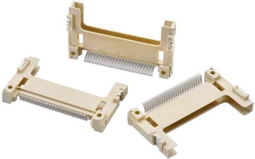 Compact Flash kártyafoglalat, házzal, 50 tüskés, WR-Compact Pólusszám: 50 Würth Elektronik Tartalom: 1 db