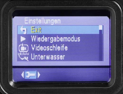 Vízálló HD kamera, LED-es zseblámpával, beépített TFT monitorral VOLTCRAFT IC-100HD