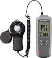 Fénymérő, luxmérő, megvilágítás mérő készülék 0.01 - 400000 lx VOLTCRAFT MS-200LED VOLTCRAFT