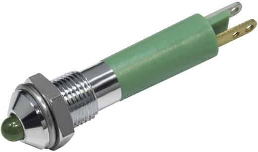 LED-es jelzőlámpa Zöld 12 V/DC 20 mA CML 19020251