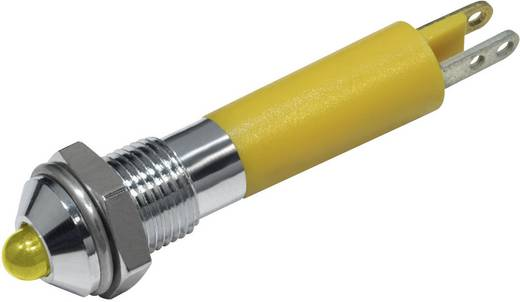 LED-es jelzőlámpa Sárga 12 V/DC 20 mA CML 19020252