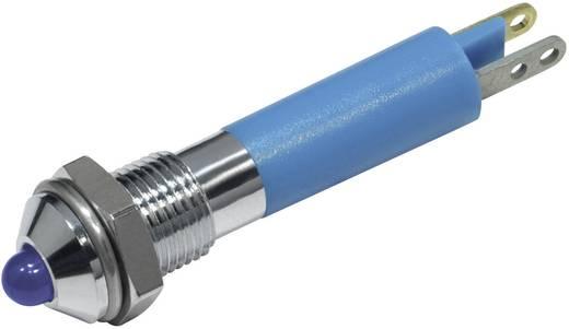 LED-es jelzőlámpa Kék 12 V/DC 18 mA CML 19020257