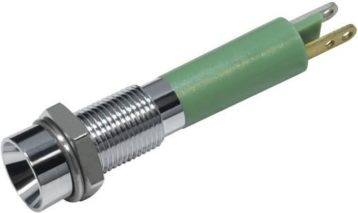 LED-es jelzőlámpa Zöld 12 V/DC 20 mA CML 19030251