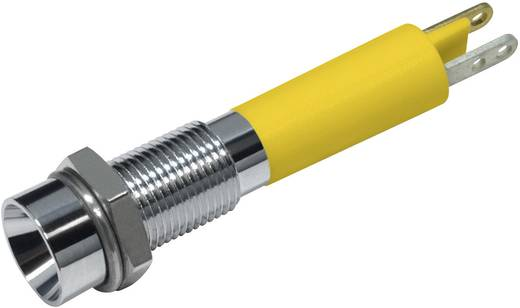 LED-es jelzőlámpa Sárga 24 V/DC 15 mA CML 19030352