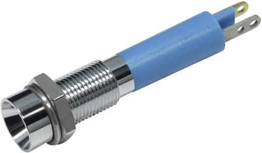 LED-es jelzőlámpa Kék 12 V/DC 18 mA CML 19030257