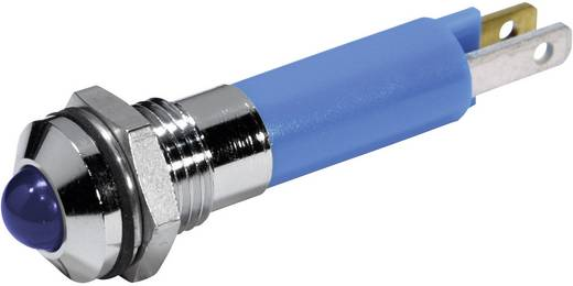 LED-es jelzőlámpa Kék 12 V/DC 20 mA CML 19040257