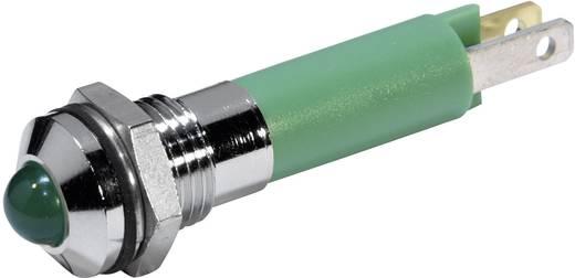 LED-es jelzőlámpa Zöld 24 V/DC 56 mA CML 19060351