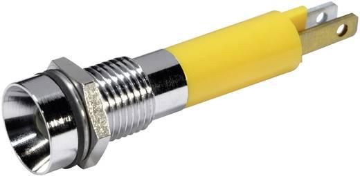 LED-es jelzőlámpa Sárga 12 V/DC 20 mA CML 19050252