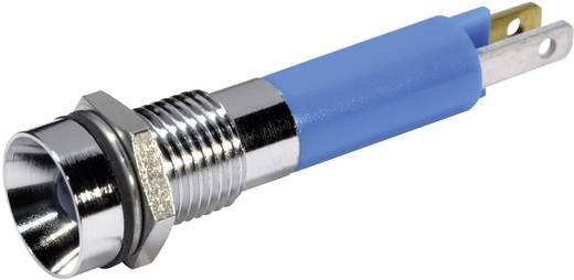 LED-es jelzőlámpa Kék 12 V/DC 20 mA CML 19050257