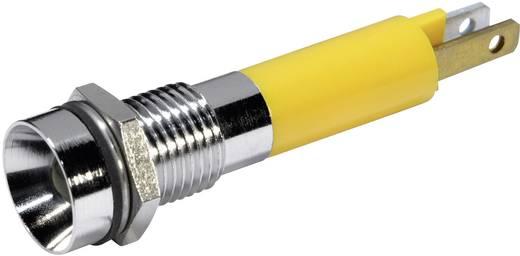 LED-es jelzőlámpa Sárga 24 V/DC 56 mA CML 19070352