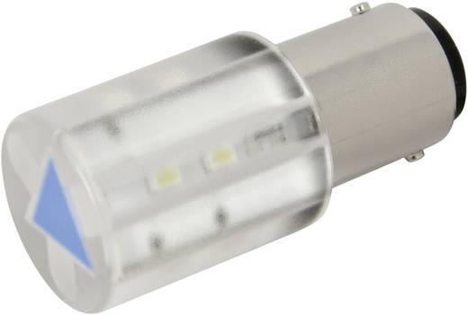 LED lámpa BA15d Kék 24 V/DC, 24 V/AC 210 mcd CML