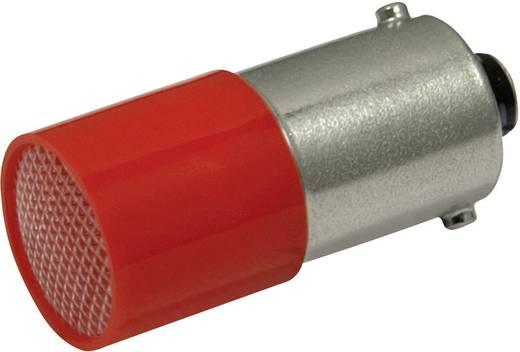 LED lámpa BA9s Piros 110 V/DC, 110 V/AC 0.4 lm CML 18824120