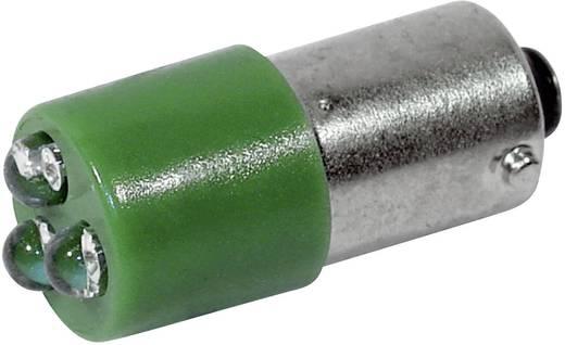 LED lámpa BA9s Zöld 230 V/AC 450 mcd CML 18626231