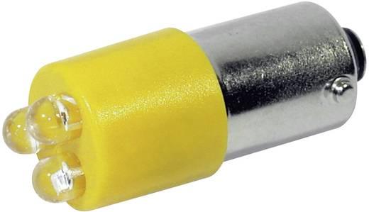 LED lámpa BA9s Sárga 230 V/AC 110 mcd CML 18626232
