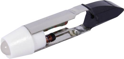 LED lámpa T5.5 Hidegfehér 12 V/DC, 12 V/AC 900 mcd CML