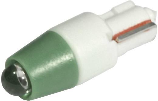 LED lámpa W2x4.6d Zöld 24 V/DC, 24 V/AC 1500 mcd CML
